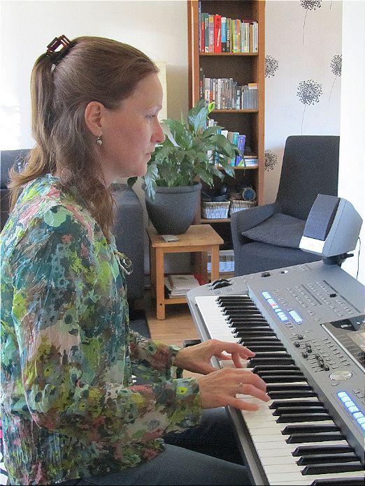 Pianoles voor Lisanne in Doetinchem